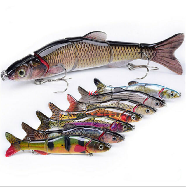 Mini Fishing Lure Swimbait Grankbait 5CM 2.5G Hard Bait Multi Jointed Fish Lures