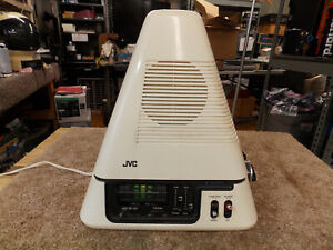 1970s-JVC-Video-Capsule-3100R-Space-Age-Pyramid-Television-AM-FM-radio