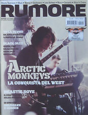 RUMORE 212 2009 Arctic Monkeys Beastie Boys Yo La Tengo Oblivians Gories Seeds
