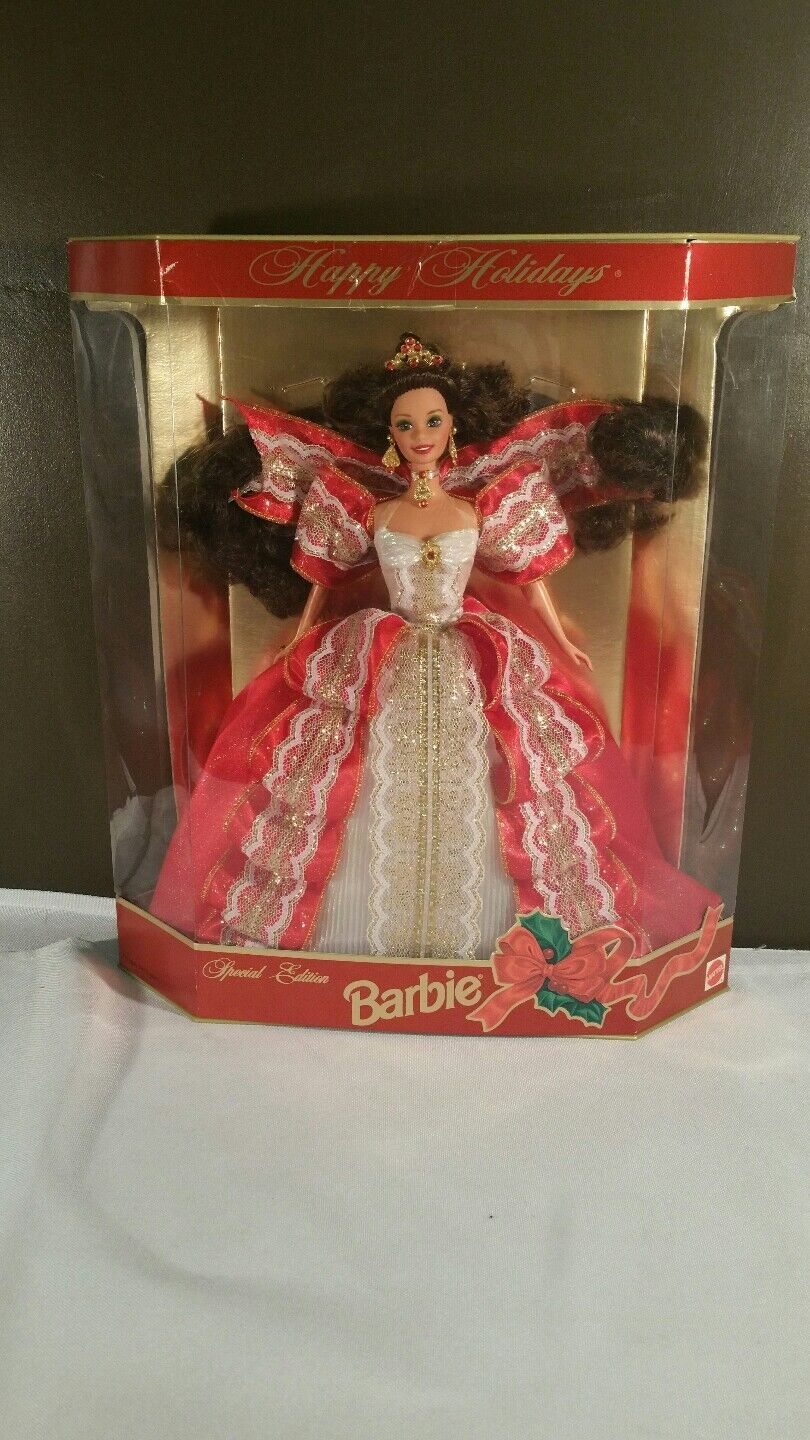 barbie special edition happy holidays 1997