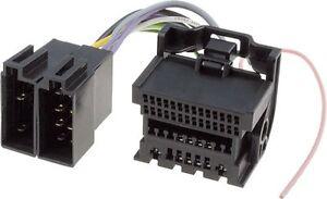 vauxhall opel astra insignia car stereo headunit wiring harness to iso loom 2009 ebay
