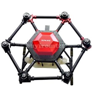 Details about 6-Axis Agricultural Spraying Drone Pesticide Fertilizer  Frame+10KG Spray System