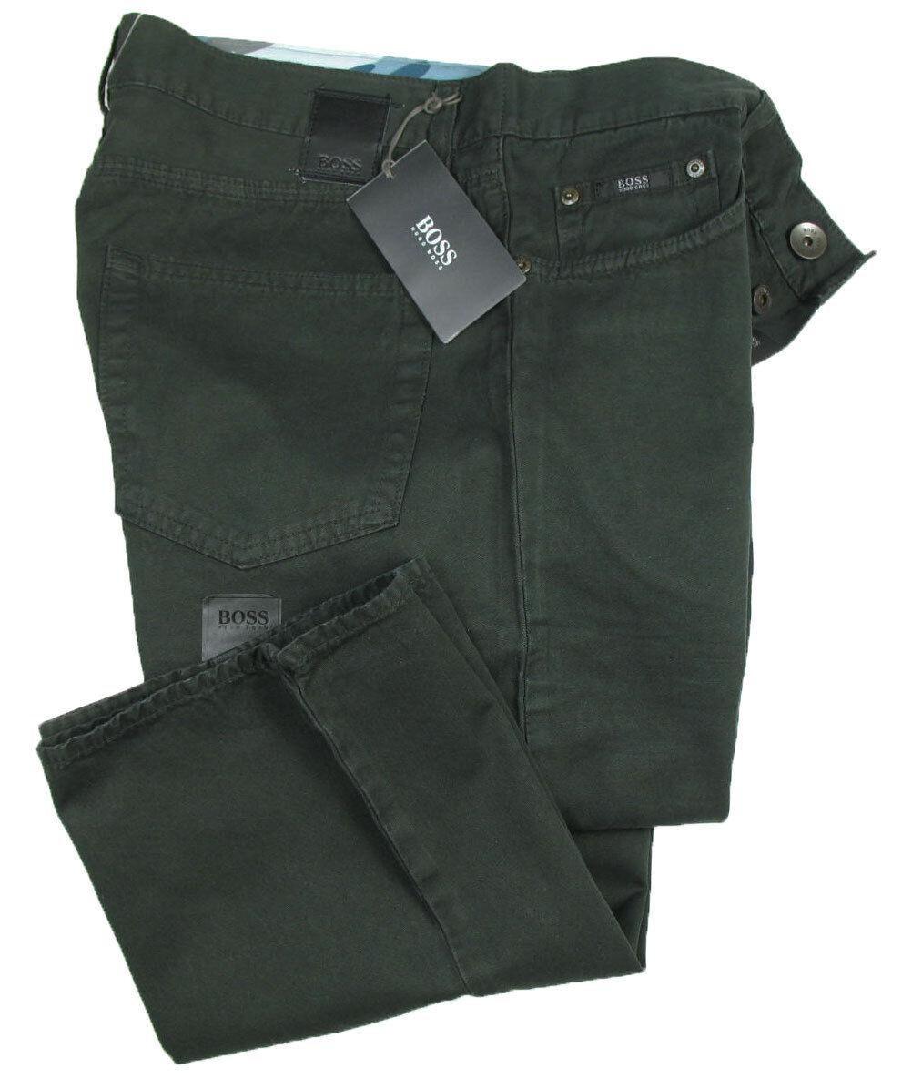 Hugo BOSS schwarz Jeans   Scout W32 L32 ( Straight Fit ) Kreuzköper Baumwolle