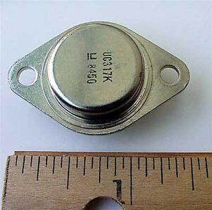 UC317K-UC317-K-Adjustable-Voltage-Regulator-317K-4-NOS