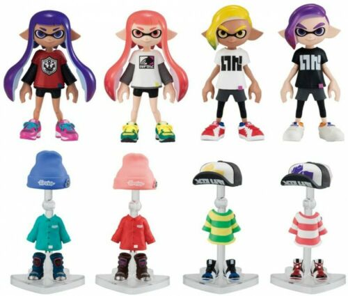 Splatoon 2 Kisekae Gear Collection 2 8pieces Japan Character Goods Bandai
