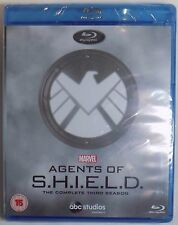 Marvel AGENTS OF S.H.I.E.L.D. The Complete THIRD Season New BLU-RAY Shield 3