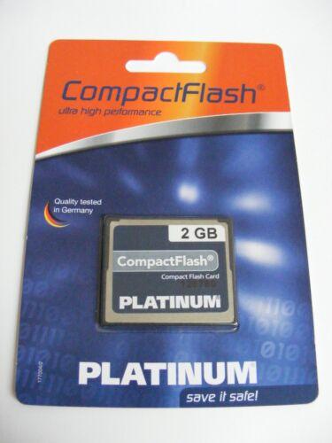 2 gb Compact Flash mapa Platinum nuevo 2gb CF Card