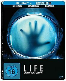 LIFE-Steelbook-Blu-ray-von-Espinosa-Daniel-DVD-Zustand-gut