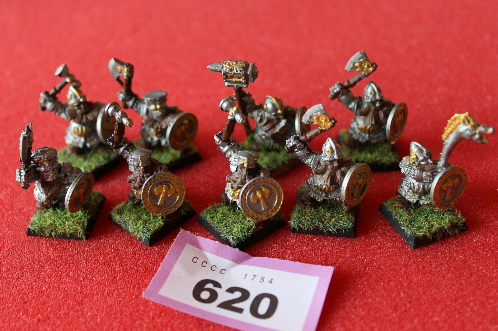 Games Workshop WARHAMMER Dwarf Ironbreakers REGIMENT métal nains peint armée