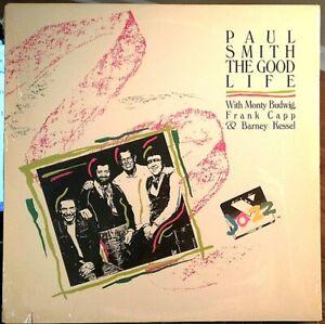 Sealed-Barney-Kessel-w-PAUL-SMITH-LP-THE-GOOD-LIFE-Voss-1988