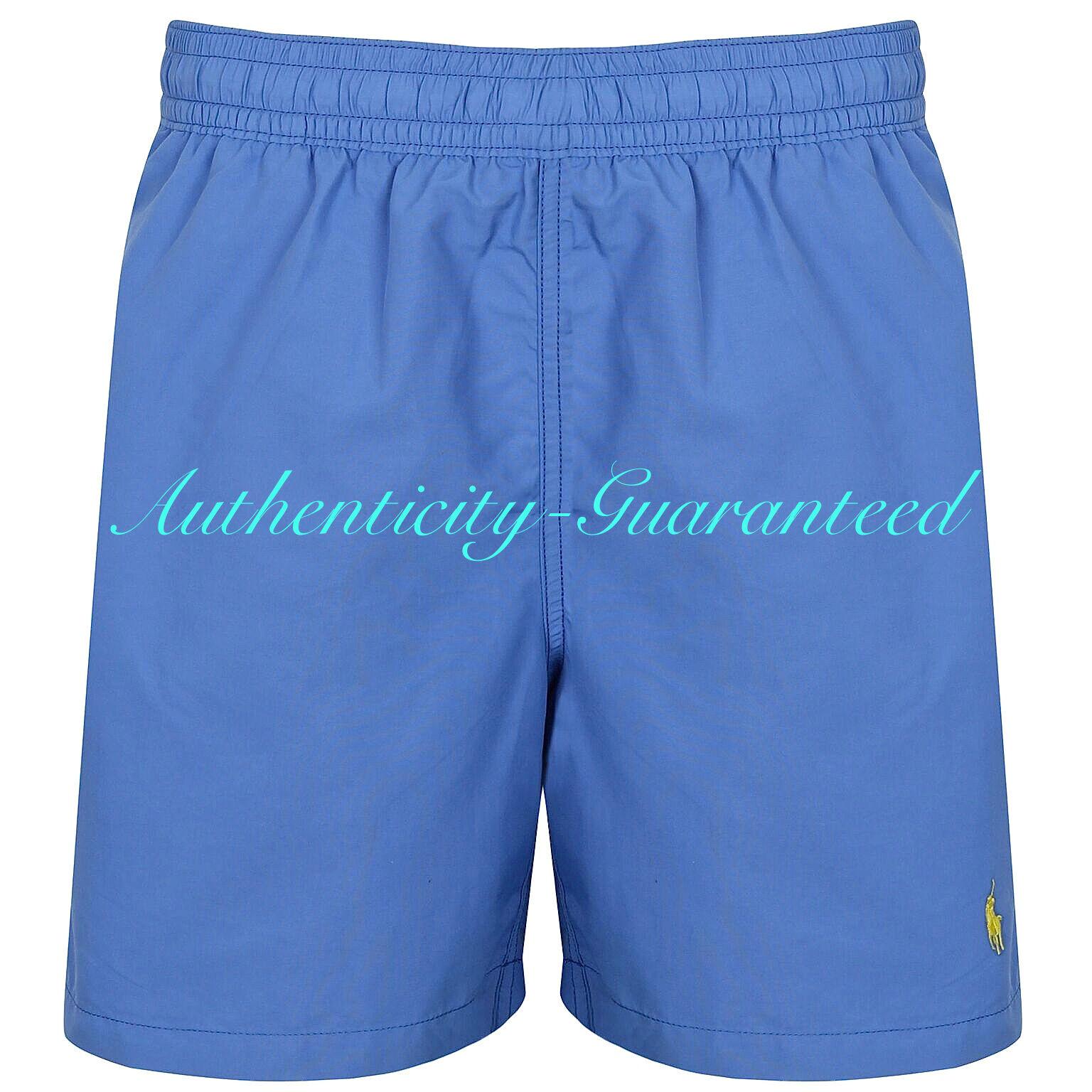 Ralph Lauren Hawaiian Boxer Swim Shorts bluee BNWT S - XL RRP