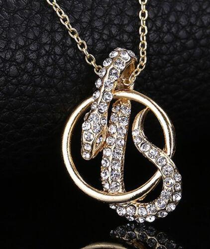 oro Cooler remolque en cadena bonito remolque serpiente con pedrería