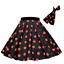 ROCK-N-ROLL-POLKA-DOT-SKIRT-21-034-Length-039-50s-GREASE-LADIES-FANCY-DRESS-COSTUME Indexbild 14