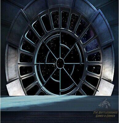"Star Wars Imperial Throne Room Backdrop Death Star Destroyer Palpatine 6/"" 1:6"