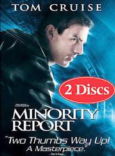 Minority Report (DVD, 2002, 2-Disc Set, Full Frame Pan  Scan)