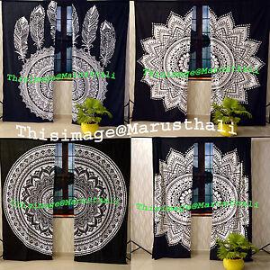 Mandala-Decor-Door-Window-Indian-Curtain-Hanging-Tapestry-Boho-Hippie-Valances