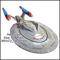 Fridge Fun Refrigerator Magnet STAR TREK SHIP USS Enterprise 1701-E -A- Diecut