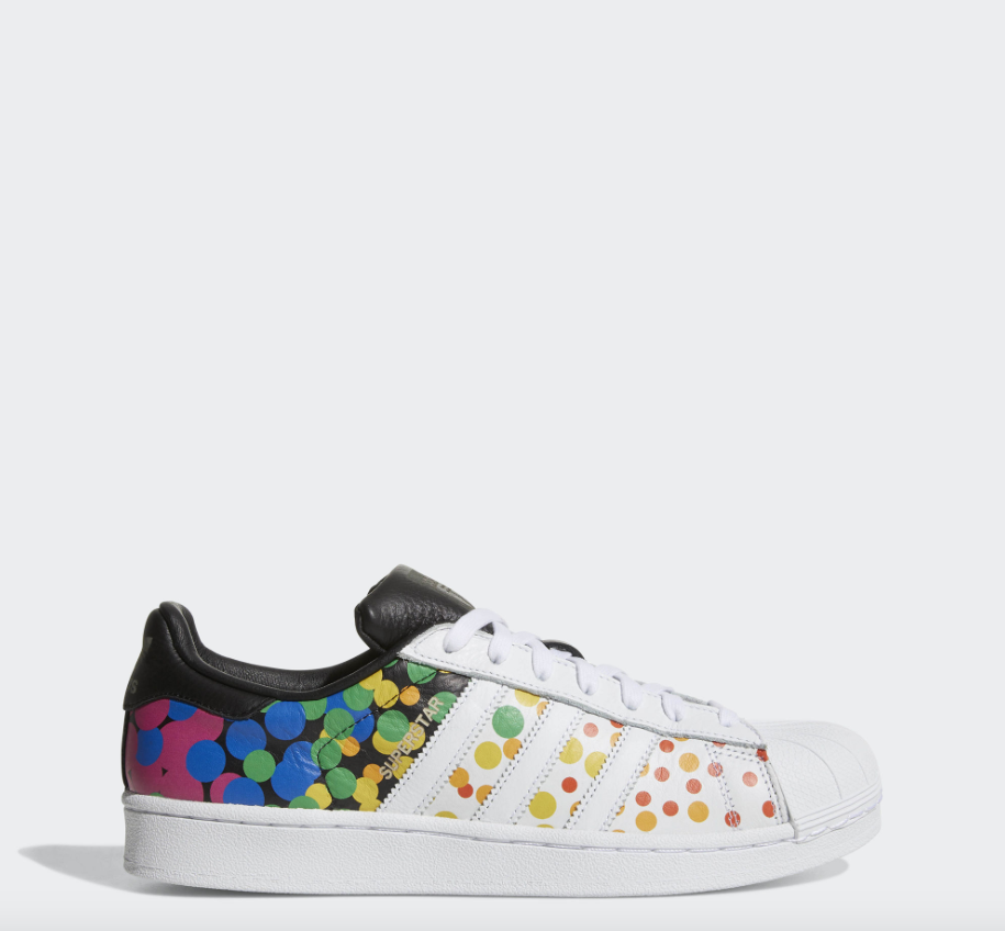 NEW Men's Adidas Pride Pack Superstar Limited Edition Shoes Size: 10