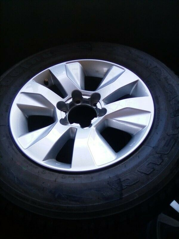 """17"""" Toyota Hilux/Fortuner original mag with good used tyre 265/65/17 to use for spare R1799."""