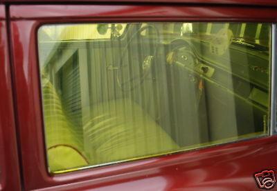 GASSER WINDOW TINT GOLD 55 56 57 CHEVY 40 41 WILLYS 426