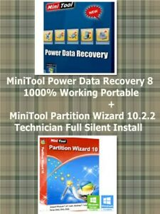 Details about MiniTool Power Data Recovery 8 1000% Working Portable