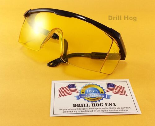 Yellow Safety Glasses Amber Goggles Eye Protection Shooting Glasses Shooters