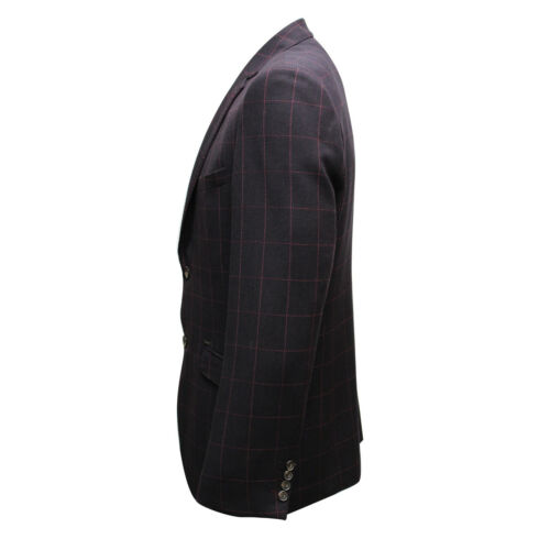 CAVANI MEN/'S BLAZER JACKET COAT TORINI WINE MRP £90