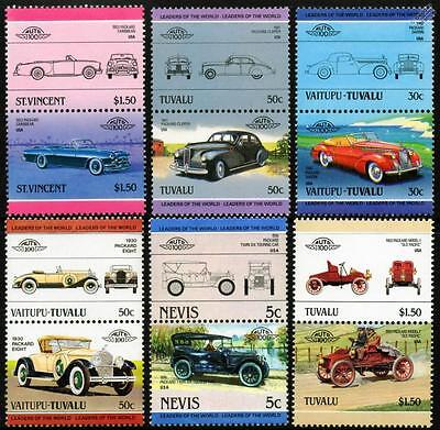 1930 PACKARD EIGHT Car Stamp Keyring Auto 100 Automobile Stamps ...