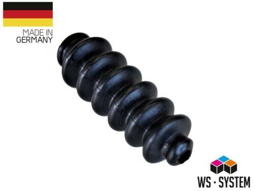 2 Stück Universal Faltenbalg Gummi Manschette Bellow L 32mm-72mm Ø 6mm-9,5mm