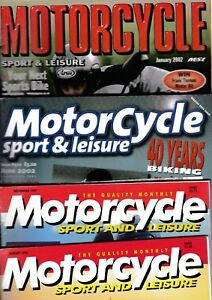 Various-Issues-of-MOTORCYCLE-SPORT-amp-LEISURE-Magazine-from-1996-to-June-2018