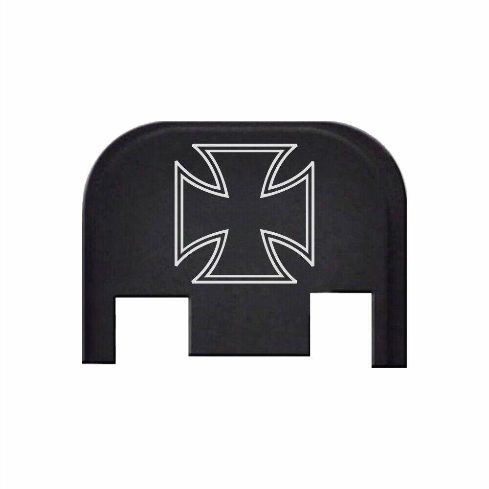 Bastion Parts Rear Slide Back Plate For Glock 19 17 41 45 Gen 1 5 Iron Cross For Sale Online Ebay