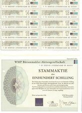 WMP Börsenmakler AG  Wien  1994   100 Schilling