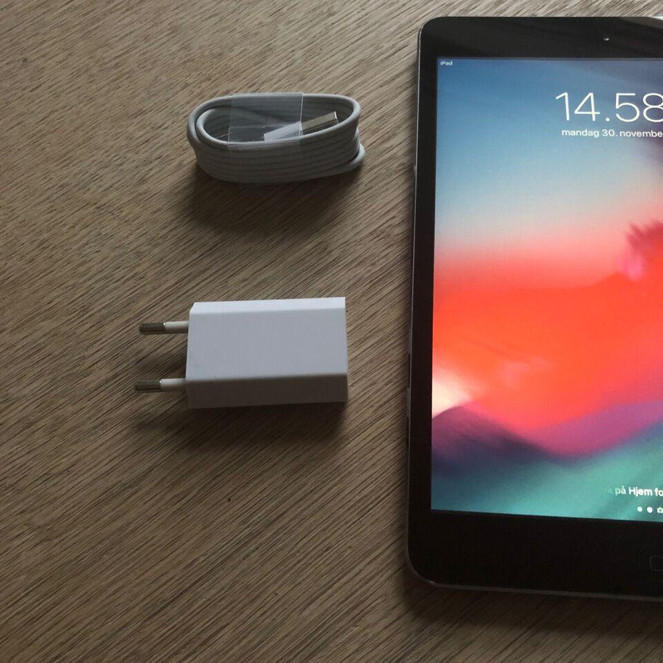 iPad mini 4, 32 GB, sort
