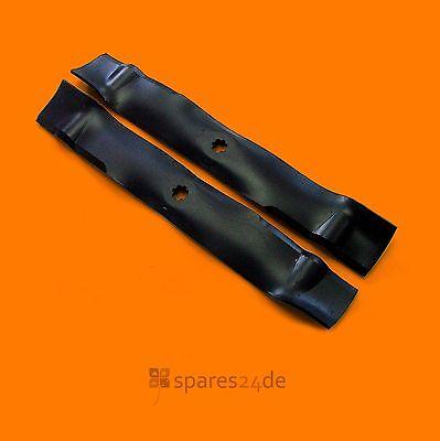 Messer Satz Mulch passend John Deere X130R 107H X155R