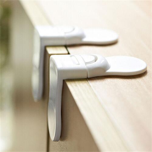 1~5 x Child Baby Kids Toddler Safety Drawer Door Cabinet Cupboard Fridge Lock UW