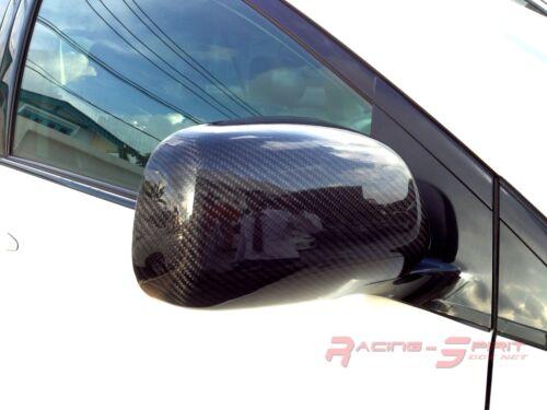 REAL 3D GLOSSY CARBON FIBER WING MIRROR COVER CAP 03-09 LEXUS RX300 RX330 XU30