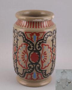 99845155-Ceramica-Vaso-Karlsruher-Majolika-da-1901