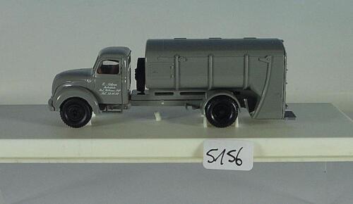 Brekina 1//87 Magirus S4500 LKW Müllwagen grau E Nöhren OVP#5156