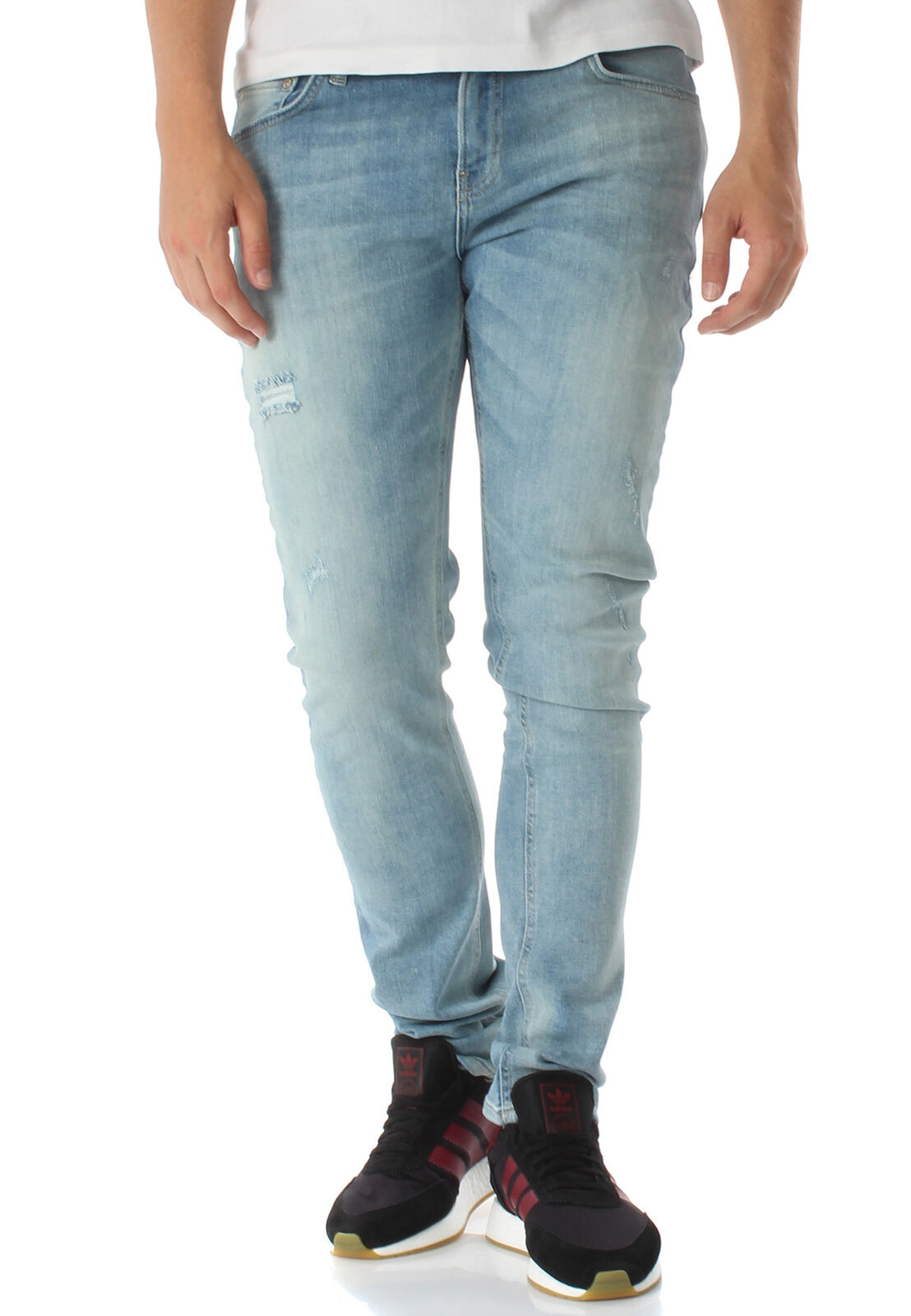 LTB Men's Jeans Smarty Gino Wash Light bluee