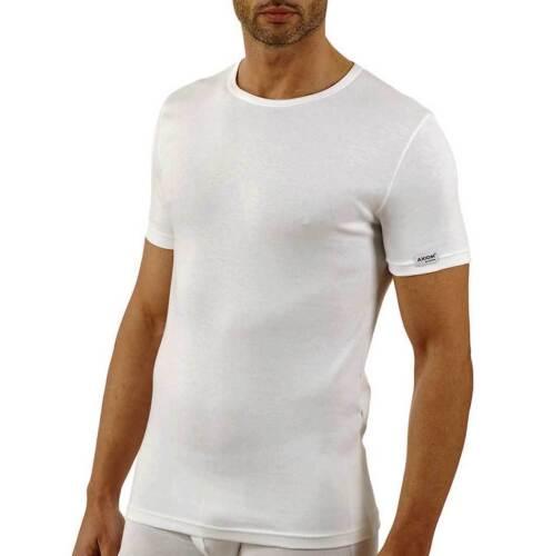 3 T-shirt uomo Axiom manica corta a girocollo in cotone elasticizzato art 345310
