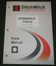 Ditch Witch Downhole Tools Parts Manual Book Catalog 053 450