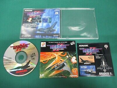 NEC PC Engine SUPER CD-ROM -- Gradius II 2 Gofer -- JAPAN  GAME  Work   13118 4988602599398   eBay