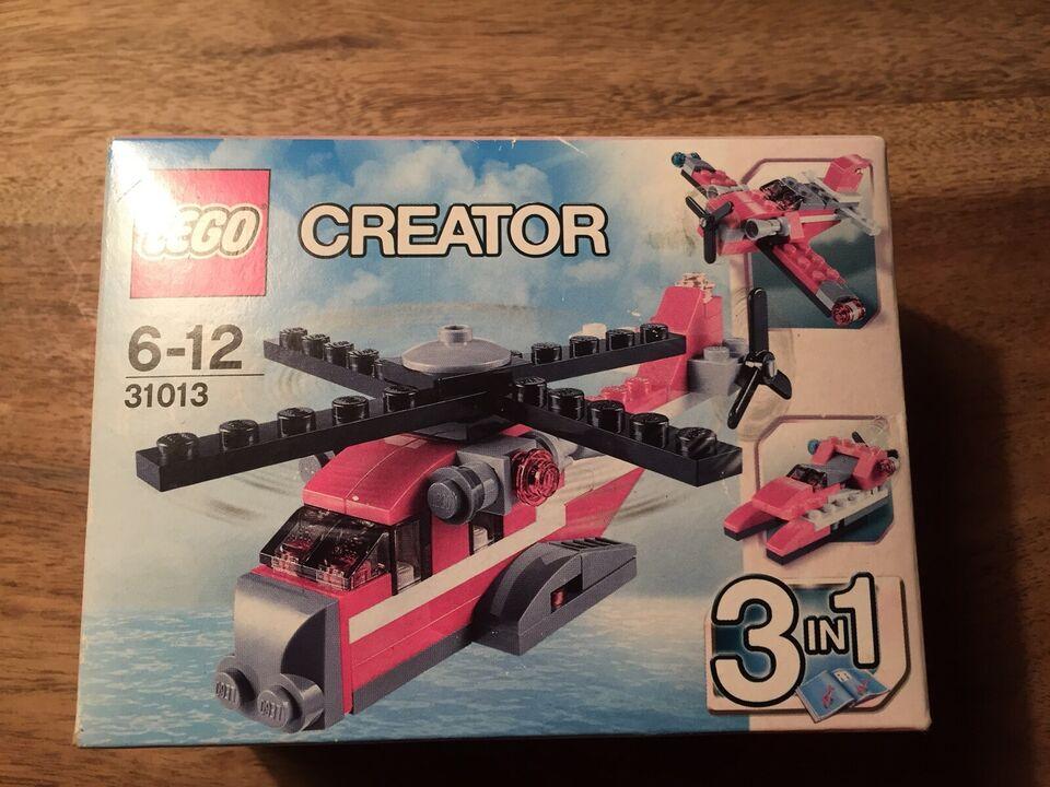 Lego City, 31013 Red Thunder