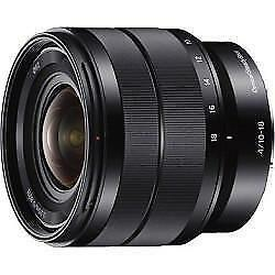 Sony 10-18mm f/4 OSS Alpha E-mount Wide-Angle Zoom Lens (SEL1018)
