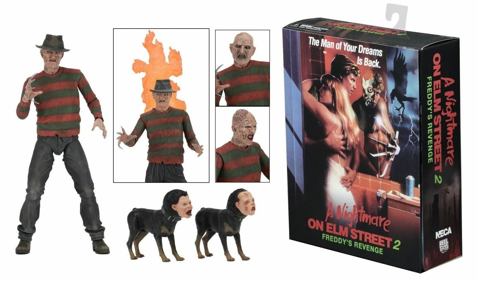 NECA Nightmare on Elm Street Part 2 Ultimate Frotdy 7  figure (Frotdy's Revenge)