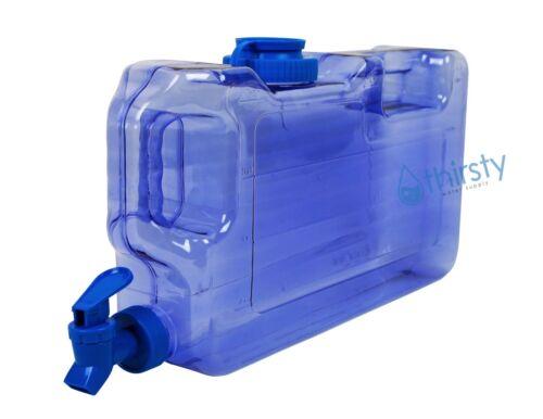 bouteille d/'eau distributeur robinet Réutilisable Récipient Carafe NEUF Blue bisphenol A Free 1 Gal environ 3.79 L