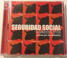 Seguridad Social Grandes Exitos Music CD+DVD. Gracias Por Las Molestias.