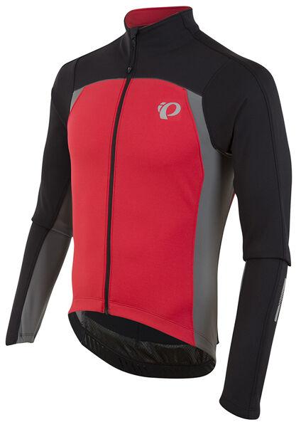 Pearl Izumi 2017 P.R.O. PRO Pursuit térmica Bike Jersey Negro rojo verdadero medio