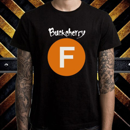 Buckcherry fvck ROCK BAND Album Cover Hommes T-Shirt Noir Taille S M L XL 2XL 3XL