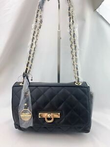 NWT-DKNY-Small-Quilted-Nappa-Lamb-Leather-Crossbody-Bag-Black-250